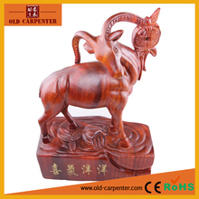 Rosewood Full of Joy crafts ornaments 42*27*12.5cm modern animal wood carving