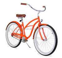 26 inch Wheel Size Aluminnum Alloy Rim Beach Cruiser Bike For Lady