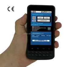 industrial android phone with HF/UHF rfid reader wifi ,3G (IP65,4000mAH battery)