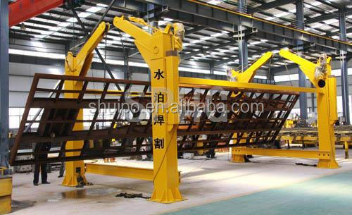 Trailer flipper/Trailer over turning machine/Dumper over turning machine/Dumper fliper/Chain type over turning machine