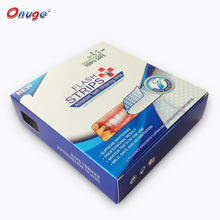 Personal use peroxide free 30 minutes tooth whitening gel strips