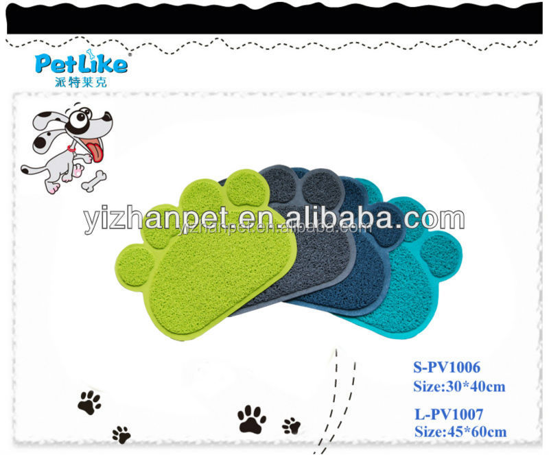 Well selling online pet mats products cat toilet litter mat