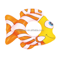 Inflatable Funny Animal Fish Swim Ring