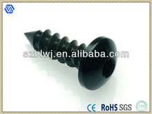 China Self Tapping Anodized Aluminum Screws Black