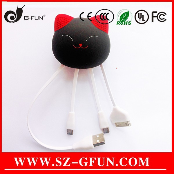 soft silicone multi mobile phone usb data transfer/charger cabl