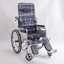 Fashion lightweight steel driven modern all terrain wheelchair
