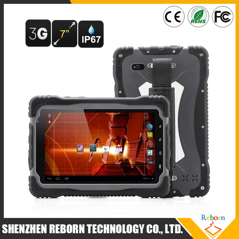 7 Inch T70 IP67 Rugged Tablet GPS 3G Waterproof Rugged Tablet PC With CE FCC ROHS