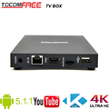 2016 popular sale Tocomfree Android5.1.1 TV box with 4K full HD Amlogic S905 Quad-core