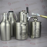 Double wall Stainless steel growler for indian marble tower