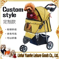 Hot Sale High Quality outdoor 3wheel pet dog stroller cheap in USA Europe