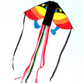 colorful clouds kite