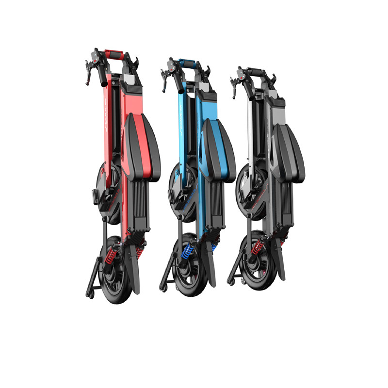 folding lithium battery electric scooter 150kg loading bike