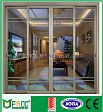 Aluminium Frame Glass Sliding Door for Interior,large sliding glass doors stacking sliding glass doors made in China