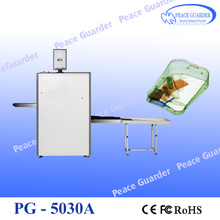 5030A Best X ray baggage scanner for hand bags security check