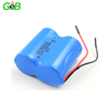Qualified power type dry battery ER26500M 3.6V 1S2P 13000mah primary battery for intelligent water meters, gas meters