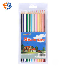 Manufacturers Wholesale Water-soluble Colored Pencil 12 Color Creative Stationery