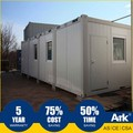 ARK Flatpack Long Lifespan German Office Container Project