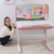 children adjustable study desk learning table M90
