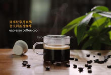 80ml microwave safe handmade glass espresso coffee tasting cup