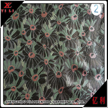 Latest design jacquard polyester ladies names of cloth fabric