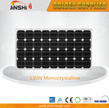 hot sale solar energy product 130w monocrystalline silicon