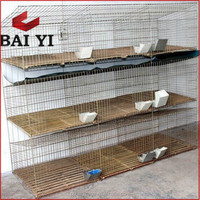 Professional Large Scale Farming Used Rabbit Cages For Sale