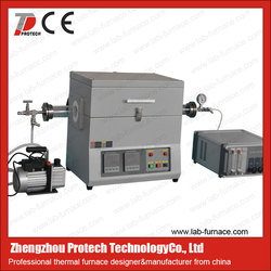 Two Zone Vacuum Tube Furnace for chemical analysis laboratory