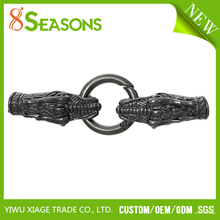 High Quality Dragon Gunmetal Hook Clasps For Leather Bracelet
