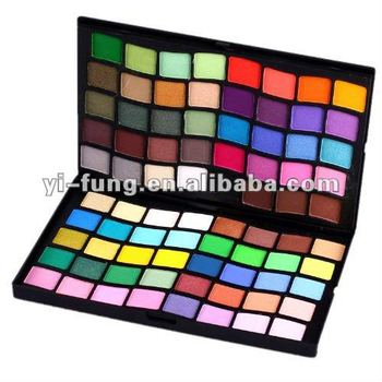 80 Color Double Stack Wave Shape Eye Shadow Palette