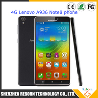 Original Lenovo A936 Note 8 Note8 6.0'' HD Screen Mobile phone 4G FDD LTE