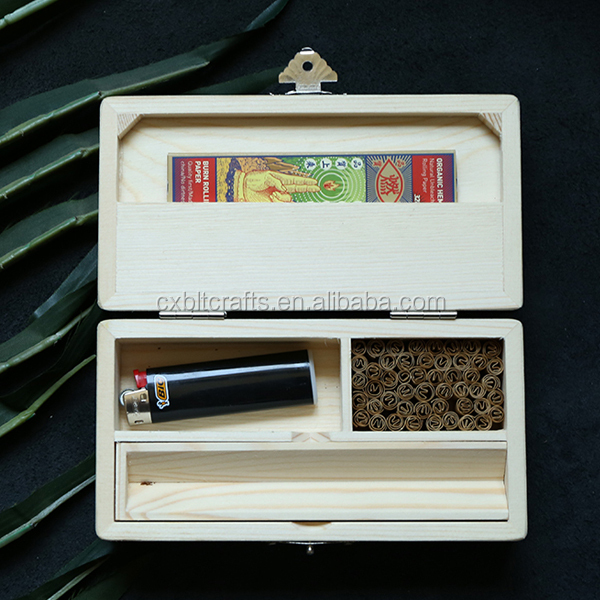 custom luxury wooden Hand rolled cigars box