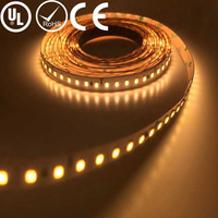 UL Listed Nonwaterproof 24V 7.2W 36LED 720LM Per Foot 16.4FT Per Roll CRI 90 Constant Current LED Strip