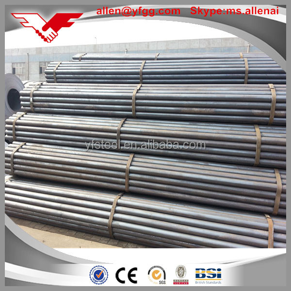 Black ERW MS Steel Pipe Price for Sale