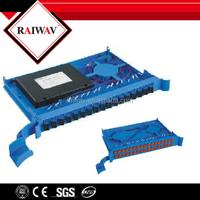 Cassette FC APC LC UPC SC ST PLC Fiber Pigtail Splitter