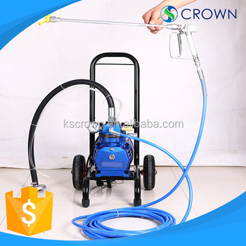 Portable airless paint sprayer machine