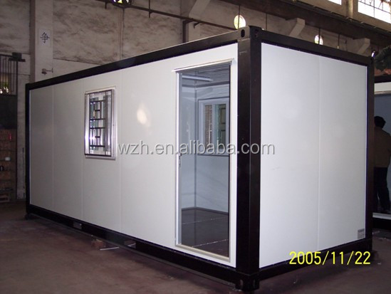 20 feet container house for office /storage hot sale on alibaba China and premium apartment