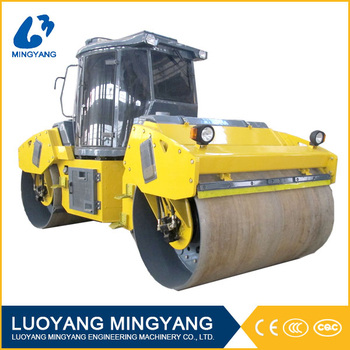 12 ton double drum hydraulic road roller
