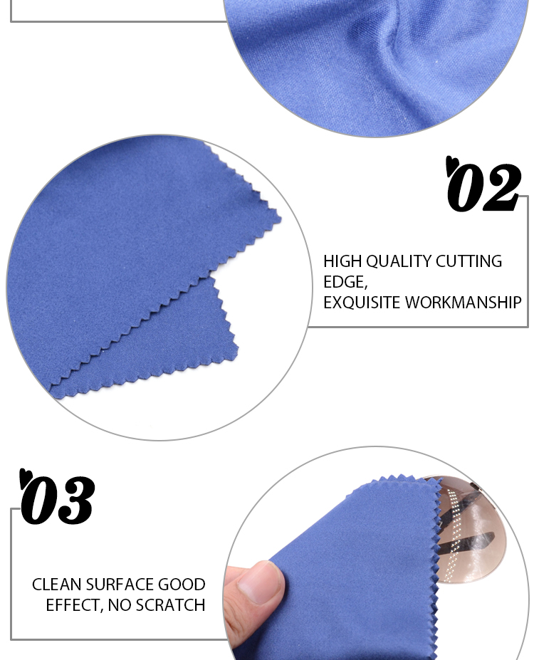 multi-purpose 200g magic microfiber lens cleaning wiper cloth