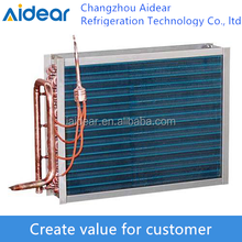Copper fin tube Heat exchanger/air cooled Condenser