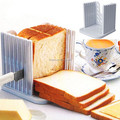 Kitchen Tools Plastic Bread Cutter Loaf Toast Slicer