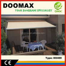 #DX400 Remote Control Aluminum Window Awnings