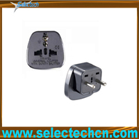 Hottest Universal to Europe 2 pin multi plug adaptor SES-9B