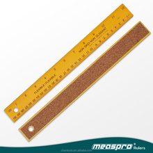 [Measpro] 12Inch Colored Non Slip Ruler/School Ruler