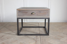 reproduction antique reclaimed wood <strong>furniture</strong> simple side table