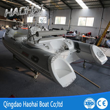 4.2m china 420 rib hypalon inflatable fiberglass hull boats for sale