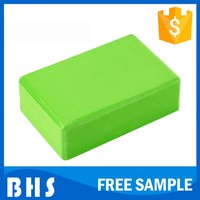 Wholesale cheap high quality pilates brick eva yoga block