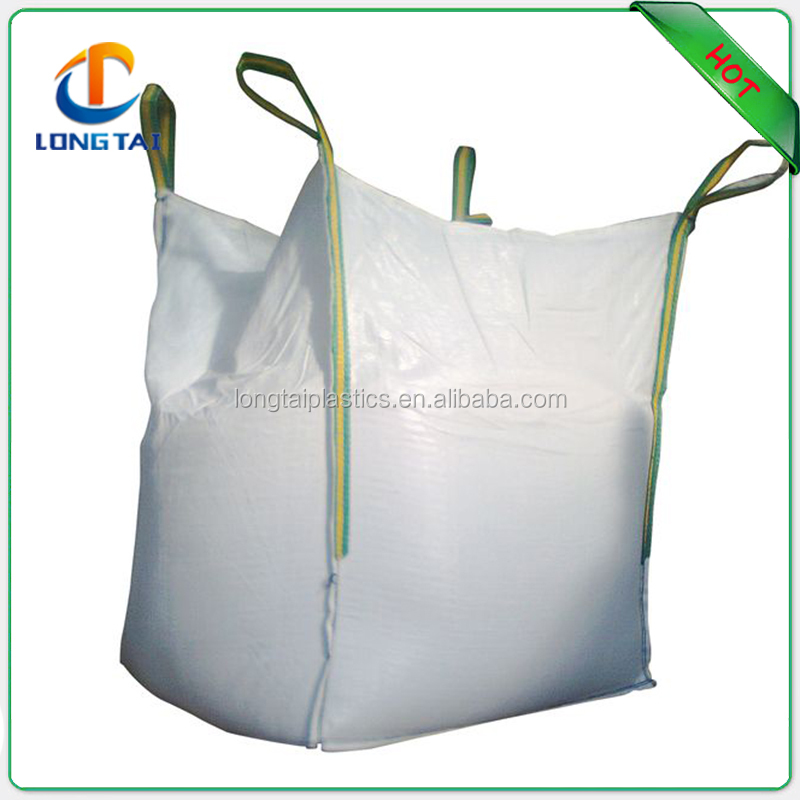 Side seam top open flat bottom U-pannel 90x90x125cm size big bag for cement, jumbo big bag specifications,recycle jumbo bag