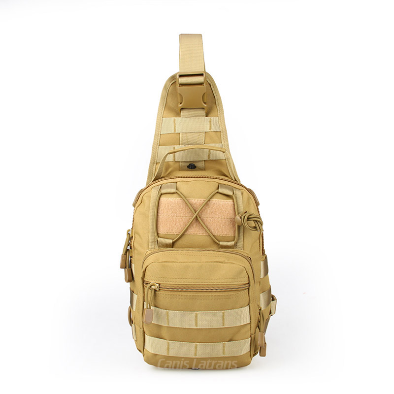 5-0056 Outdoor Sports 600D single shoulder bag Sling Backpack Tactical Soulder Sling Bag