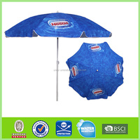logo printing for advertising promotion beach umbrella L-b109