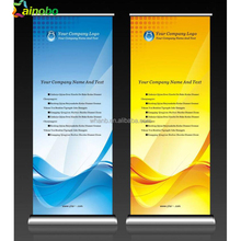 Advertising Roll Up Banner Signs Full Aluminum Banner Stands Design for Trade Show Booth use